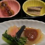 串揚げ料理 みや田 - 前菜です
