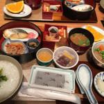 nihonryourioosakaukihashi - 朝食