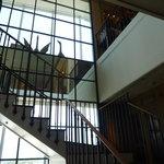 ブノワ - 階段を上って行くと・・・。