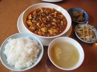 川菜味 - 麻婆豆腐ランチセット