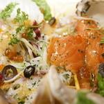 炭焼バル SACHI - 秋鮭、タコ