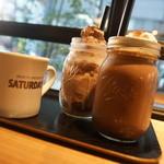 サタデイズ チョコレート ファクトリー カフェ - ジュース