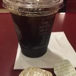 CAFE VELOCE - いつもアイスこはテイクアウトのカップにします。