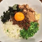 麺匠ことぶき - 2016.3下_まぜそば(800円)