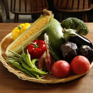 毎日仕入れる旬の食材をお楽しみください
