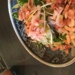 食堂みやもと - 桜エビのマリネ