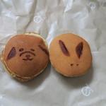 かわばた菓子店 - 料理写真:ちょいどらワン太、うさ子