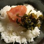 49971926 - 辛子明太子・からし高菜・ご飯食べ放題‼︎