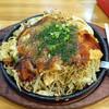かわせみ - 料理写真:広島のお好み焼き+イカ天