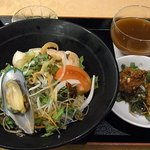 CANAE China 福龍 - 海鮮サラダ冷麺