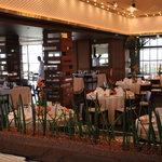 Restaurant Azzurro Mare Terrace on the Bay - 披露宴用セッティング?
