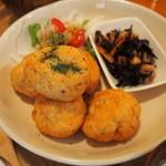 パレット食堂 - 鶏と豆腐のナゲット