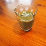 パレット食堂 - 自家製飲む野菜♪小松菜、黒ゴマ、バナナ、青梗菜、いちご♪