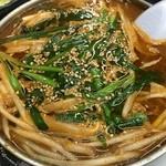 永楽食堂 - 牛肉コチジャン煮