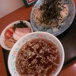 49984708 - つけ麺(醤油)800円