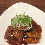 CHINESE RISTORANTE レン - 黒酢酢豚 900円