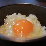 らぁ麺 紫陽花 - 本気のTKG☆