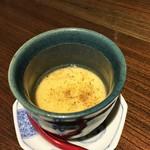 佳肴みを木 - 鴨スープの茶碗蒸し