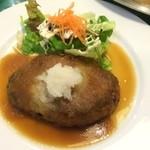 ポワール - 和風ハンバーグ【料理】