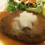 ポワール - 和風ハンバーグアップ【料理】