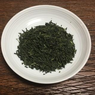 八万寿茶園 - 料理写真:有機屋久島茶 上煎茶