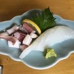49997321 - 水イカ(アオリイカ)刺身 1300円(税込)