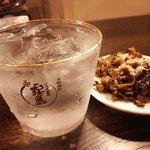 ふくやラーメン - また来ちゃった・・・辛子高菜と焼酎でも満足