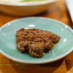 ホルモン焼き肉ぶち - 2016.4 お通し(200円)の肉味噌
