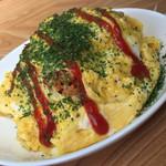 福村食堂 - マジックオムライス小/600円