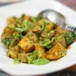 タカリバンチャ - 2016.4 LAPSHI ALU ACHAAR 野菜のアチャールサラダ(パーティーメニュー)