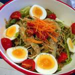 パクパク - [写真: チョレギと水菜のサラダ]