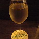 サルーテ - 白ワイン。