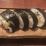 かわぐち - 巻き寿司(半分)