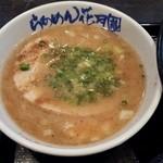らあめん花月嵐 - 201604豚そばつけ麺\800 つけ汁