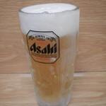 かくや - キンキンに冷えた生ビール