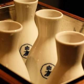 日本酒・焼酎多数取り揃えております。