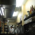 とんかつ ひろ喜 - 厨房