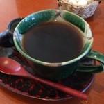 cafe 茶蔵 - 食後のコーヒー