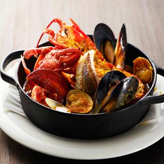 *☆贅沢に☆*オマール海老を味わいつくす特別料理♪*゜