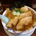 つけめん ちっちょ - 手もみ麺特製中華そば(醤油) 1050円 + 大盛 100円