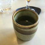 Cafeルノアール - 最後にサービスの番茶が…(。・ω・)ノ♪︎