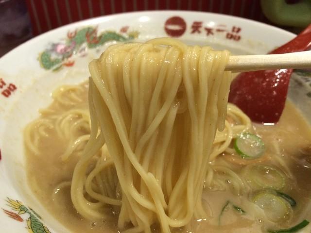 天下一品 堂島店 - 麺