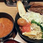 50019009 - 【海老つけ麺 + 味玉】¥850 + ¥100