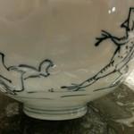 50019160 - 蕎麦の器は鳥獣戯画
