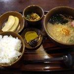 うどん村 - 料理写真:ボケボケのそば定食