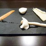 ラ パスト - 料理写真:チーズの盛り合わせ