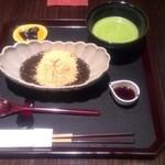 50022564 - できたてわらび餅(抹茶付き)¥2374。
