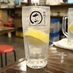 焼肉ホルモン せいご - レモンサワー