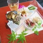 翆陽 - 料理写真:彩り前菜盛合せ