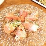 50023739 - 【料理】季節の果物と生ハム